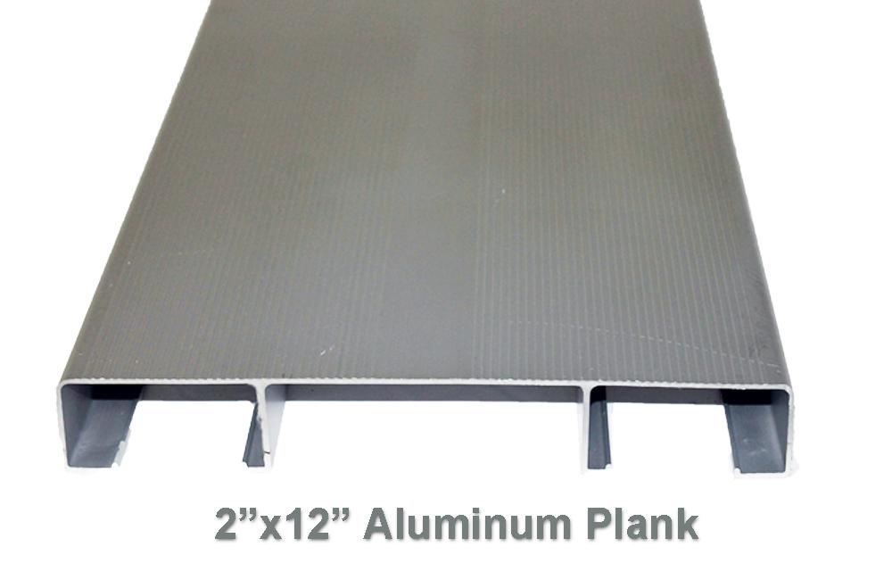 Markstaar Aluminum Plank Mill Finish P21224ml 2 X 12