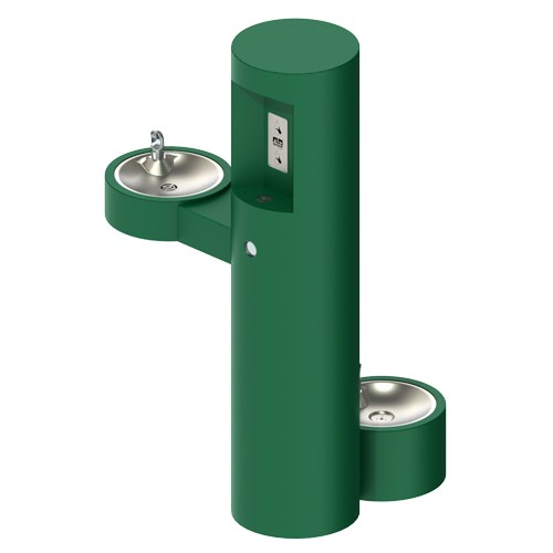 Outdoor Drinking Fountain Bottle Filler