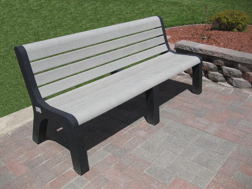 Buy Plastic Recycled Malibu Benches Markstaar Plastic