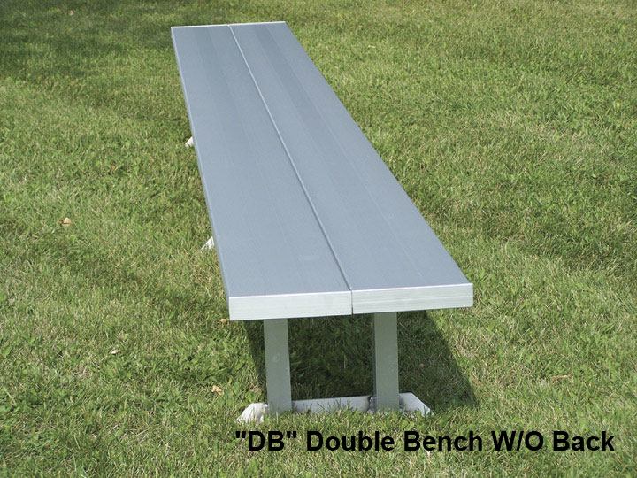 Magnificent Portable Bench Double Wide Without Back 6 8 Ft Be Db Gmtry Best Dining Table And Chair Ideas Images Gmtryco
