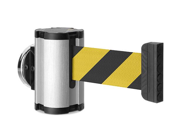 7 Foot Magnetic Retractable Belt Barrier